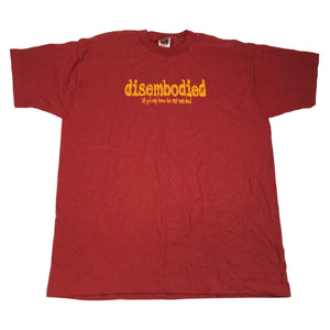 "Vintage Disembodied ""If God Only Knew"" T-Shirt"
