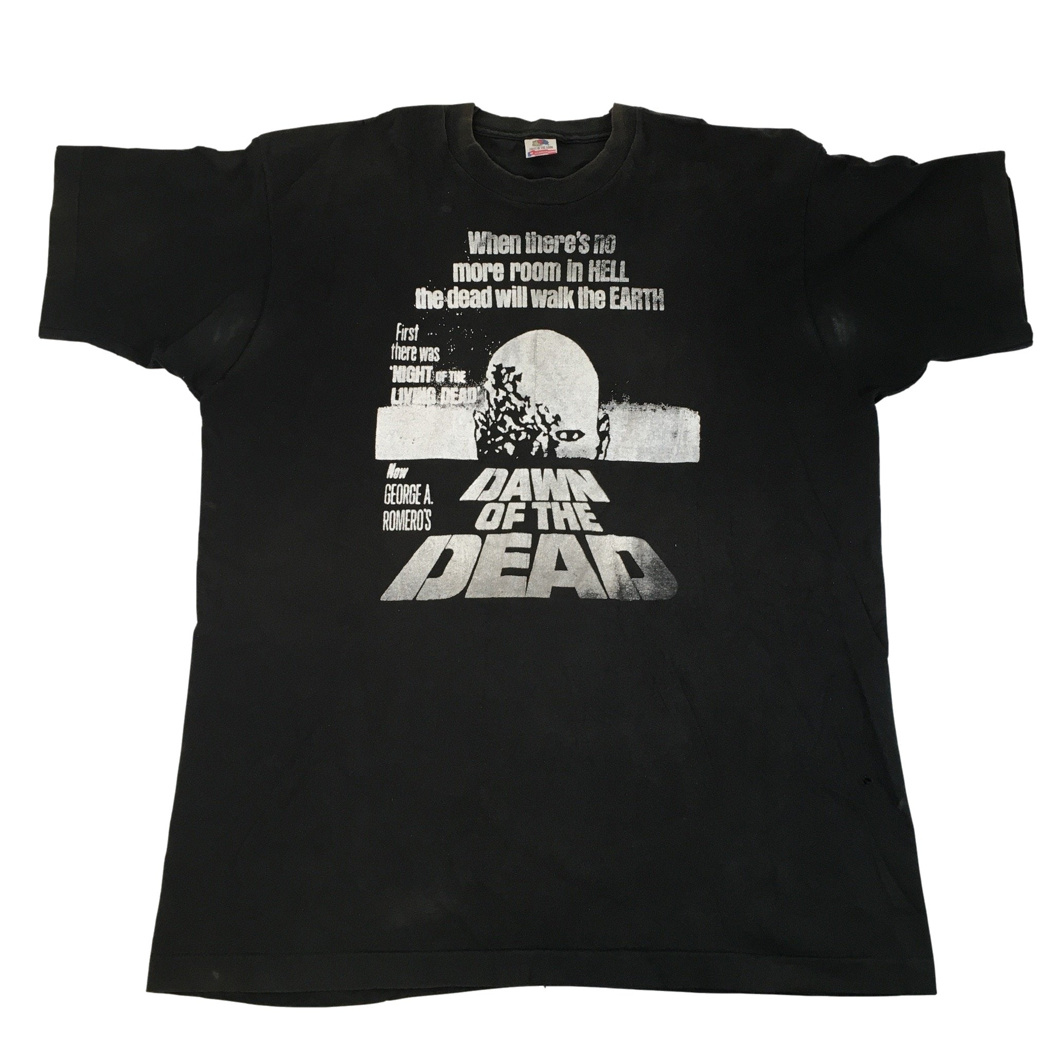 "Vintage George A. Romero ""Dawn Of The Dead"" T-Shirt"