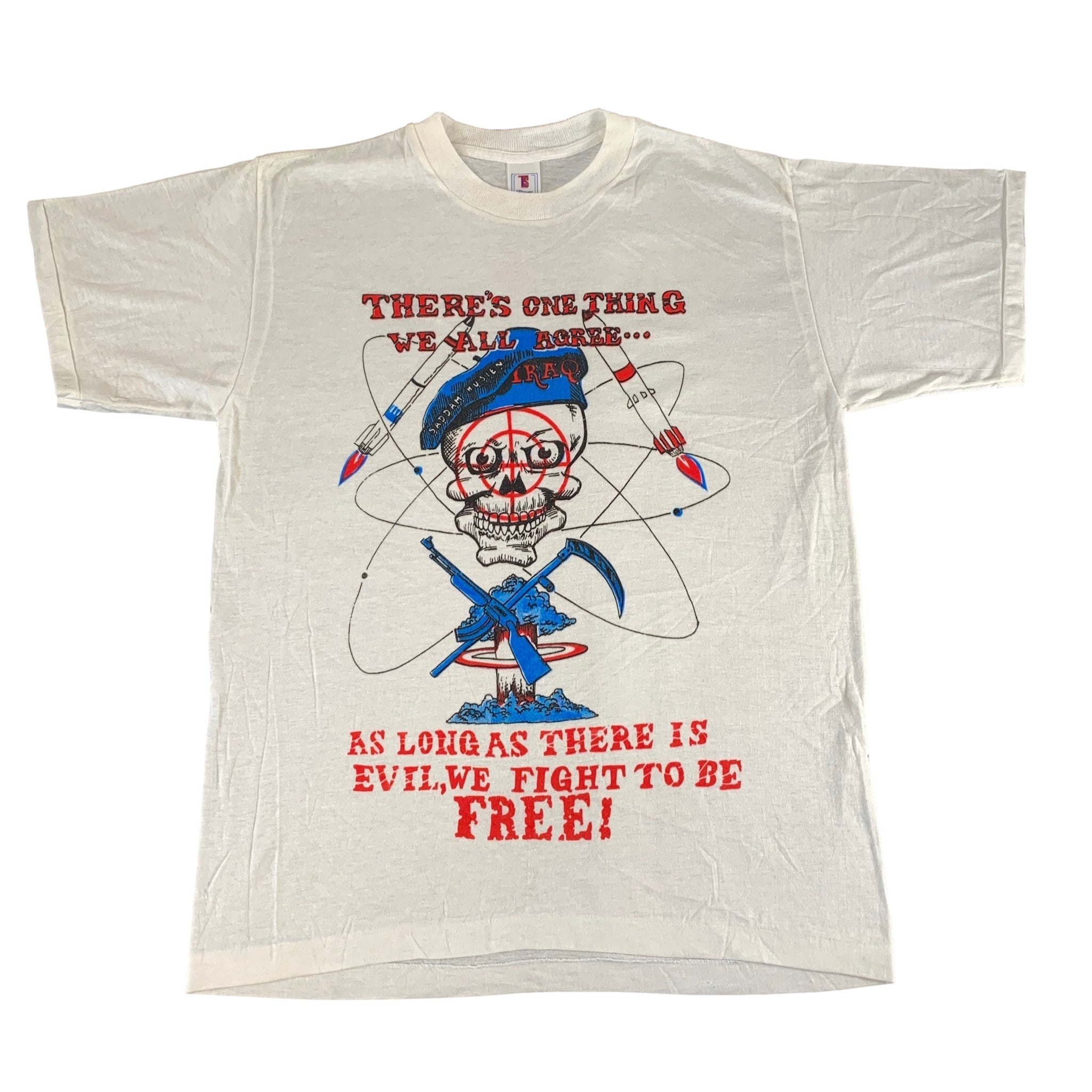 "Vintage Iraq ""There's One Thing We All Agree.."" T-Shirt"