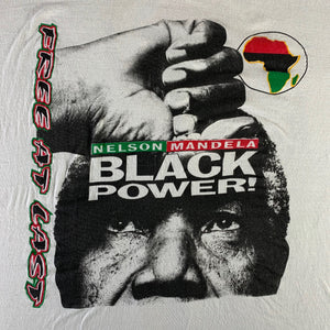 "Vintage Nelson Mandela ""Black Power"" T-Shirt"