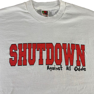 "Vintage Shutdown ""Against All Odds"" T-Shirt"