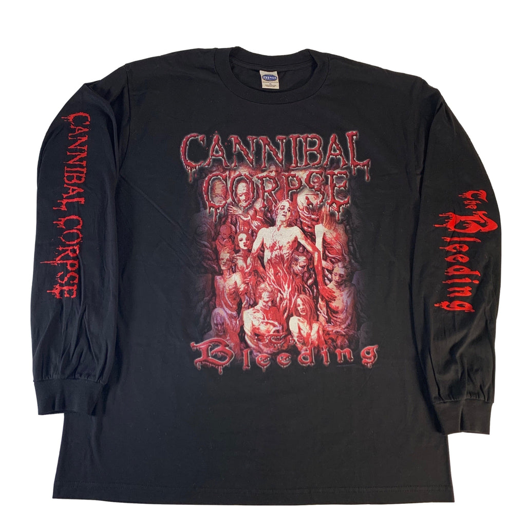 "Vintage Cannibal Corpse ""Bleeding"" Long Sleeve Shirt"