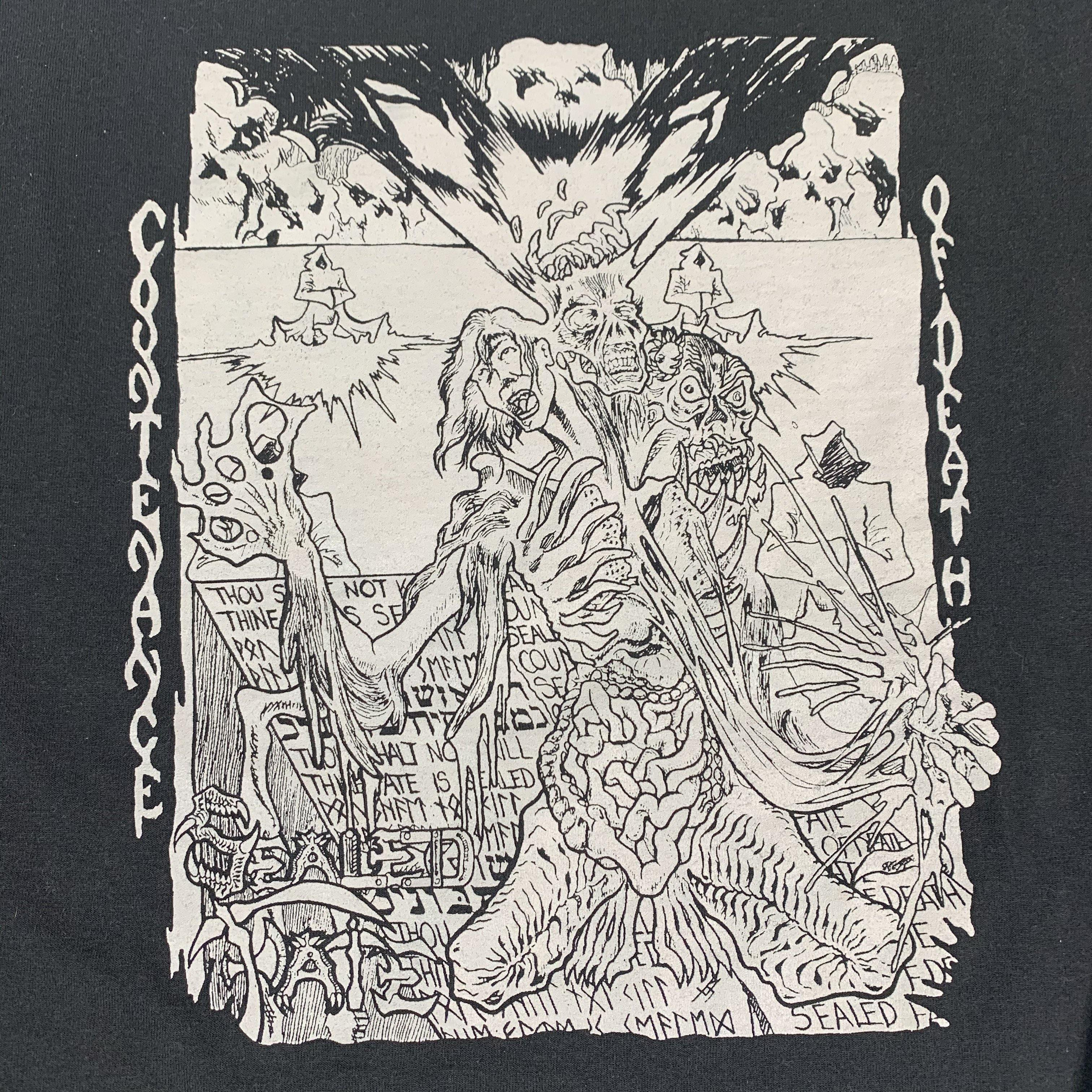 "Vintage Sealed Fate ""Countenance Of Death"" Long Sleeve Shirt"