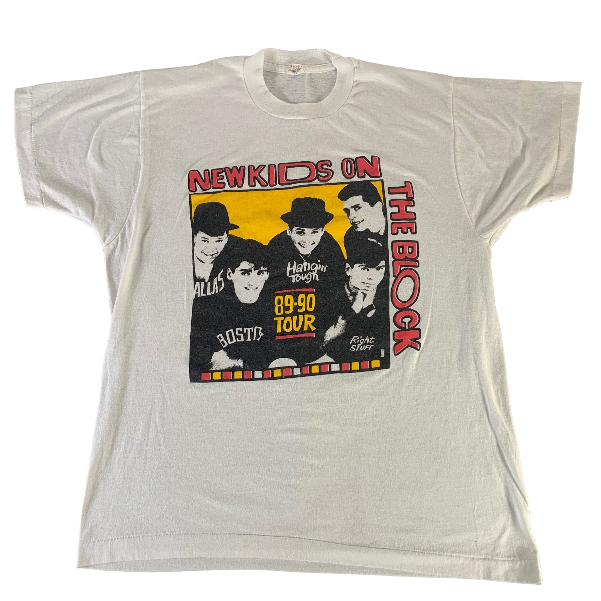 "Vintage New Kids On The Block ""89-90"" T-Shirt"