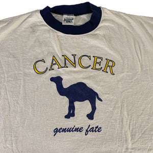 "Vintage Cancer ""Genuine Fate"" Ringer"