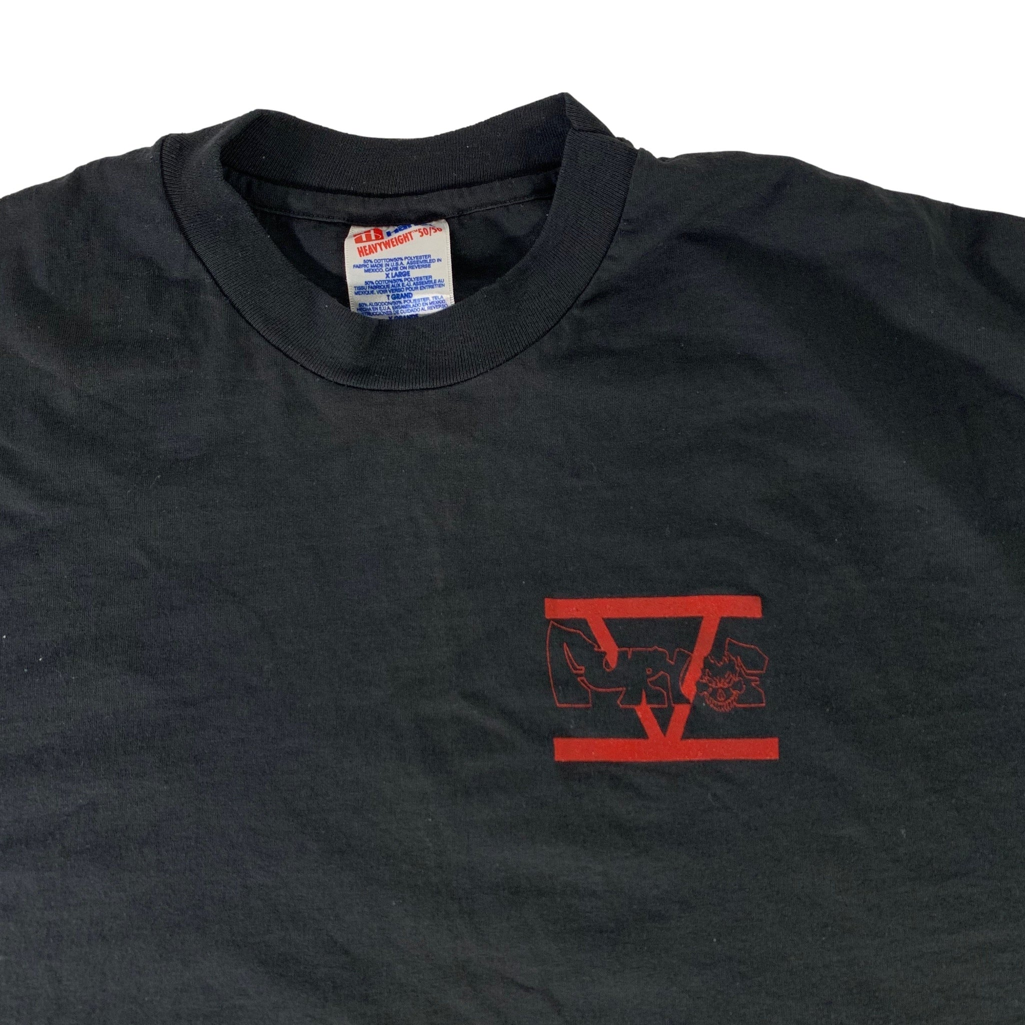 "Vintage Fury Of Five ""See The Vengeance Rise"" T-Shirt"