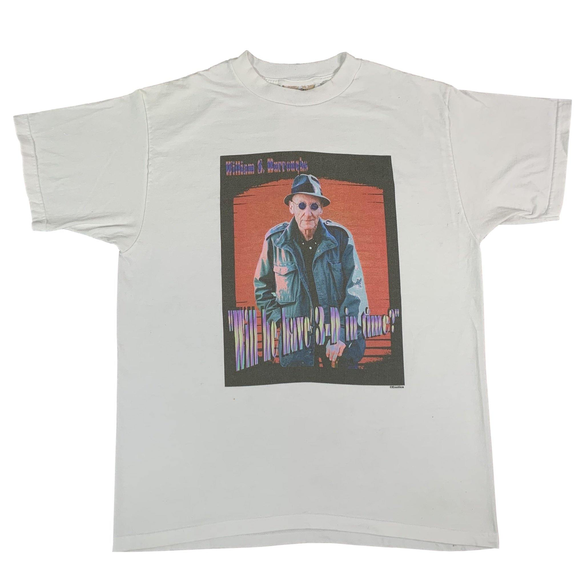 "Vintage William Burroughs ""Will He Have 3-D In Time"" Exotica T-Shirt"
