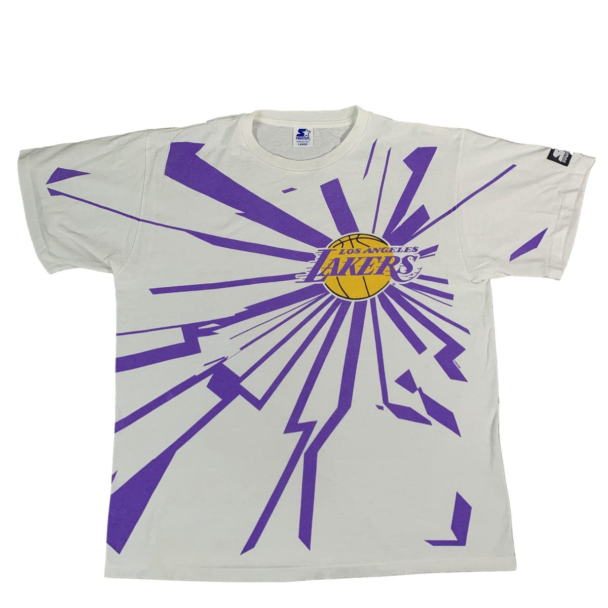 "Vintage Los Angeles Lakers ""Starter"" T-Shirt - jointcustodydc"