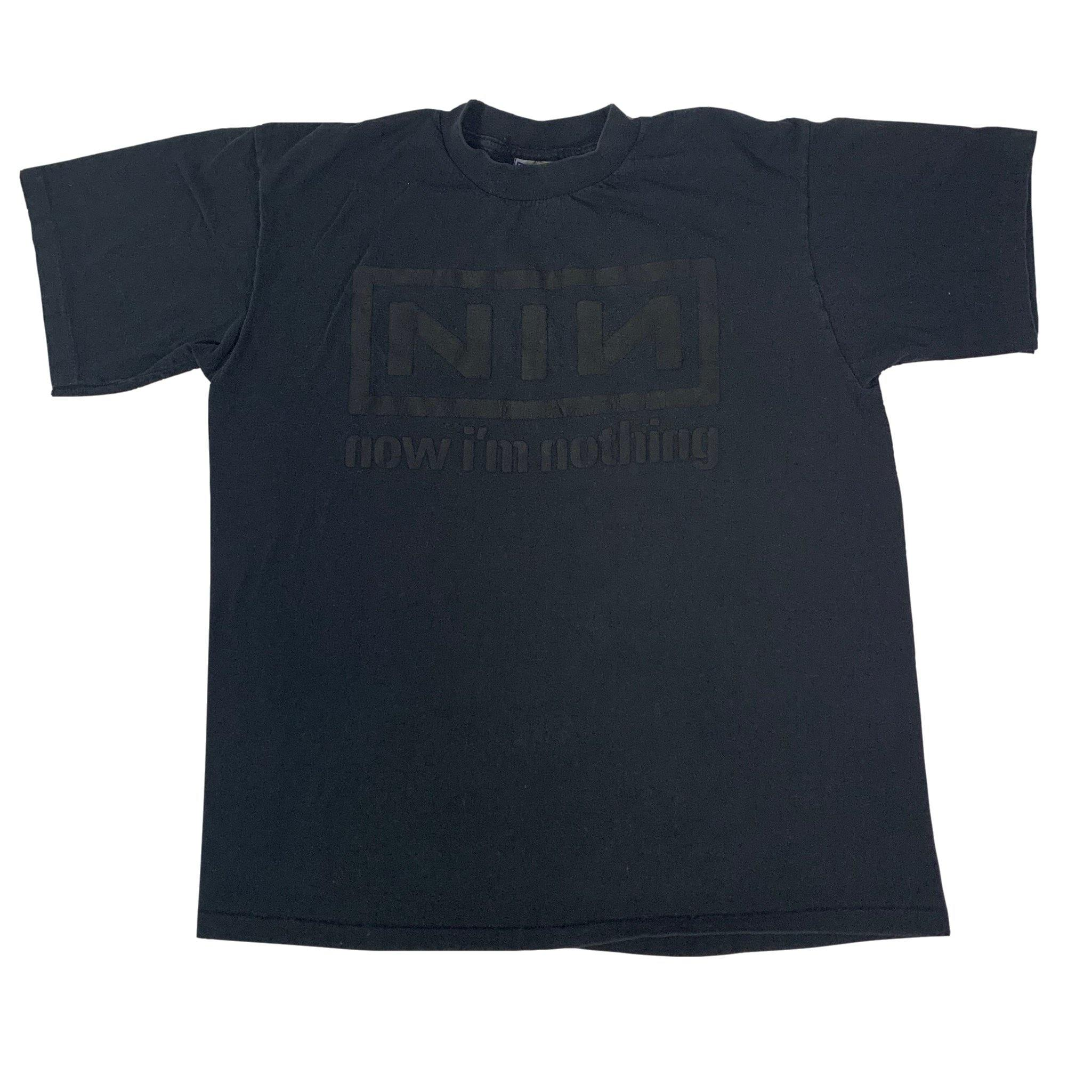 "Vintage Nine Inch Nails ""Nothing"" Puffy Ink T-Shirt"