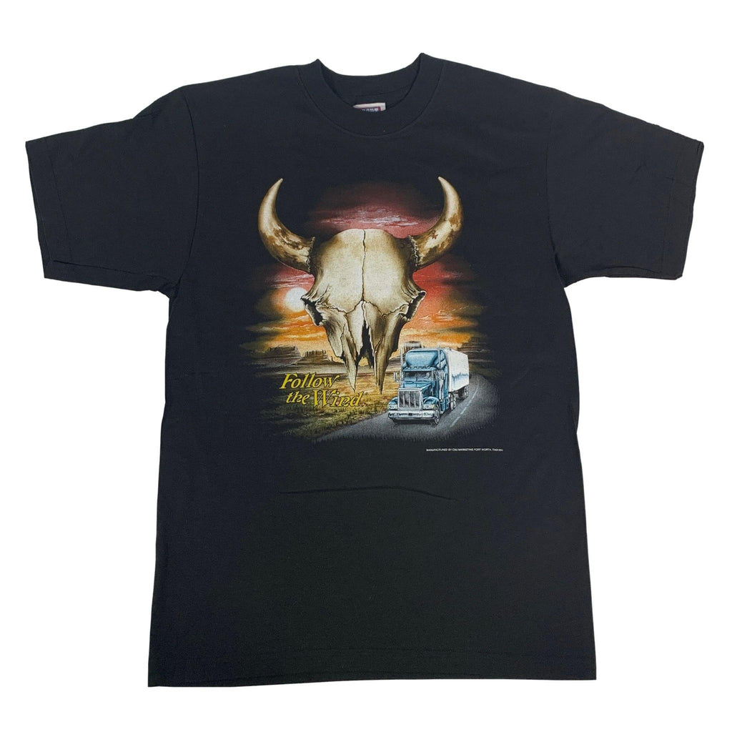 "Vintage Follow The Wind ""CMJ Texas"" T-Shirt"