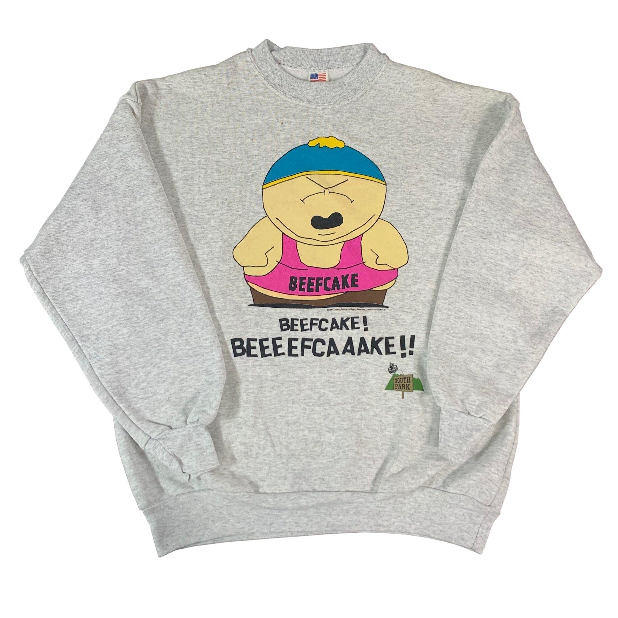 "Vintage South Park ""Beefcake"" Crewneck Sweatshirt"