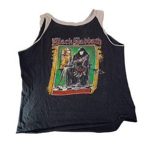 "Vintage Black Sabbath ""666"" Tank Top"