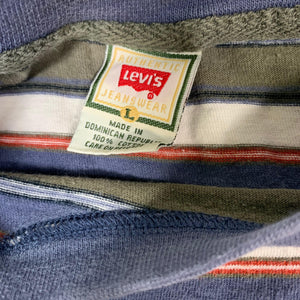 "Vintage Levis ""Striped"" Long Sleeve Shirt"