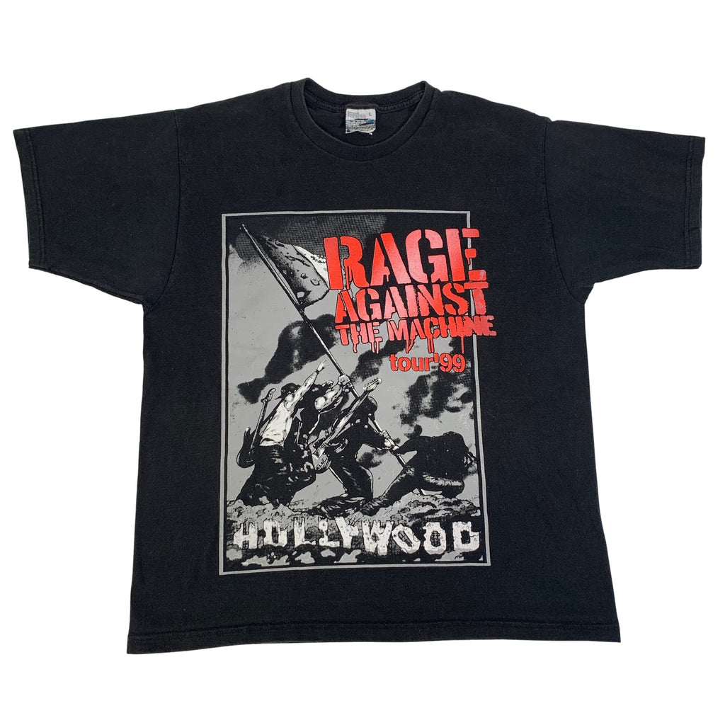 "Vintage Rage Against The Machine ""Hollywood"" T-Shirt"