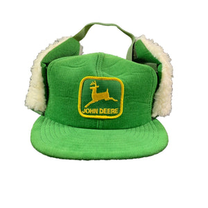"Vintage John Deere ""Ear Muff ""Adjustable Hat"