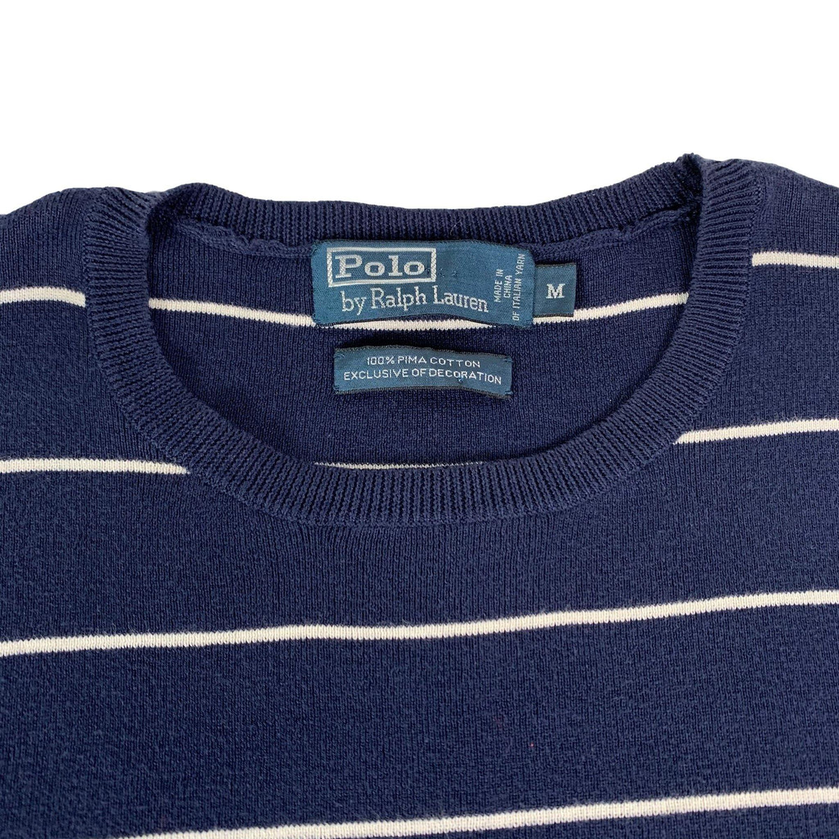 "Vintage Polo Ralph Lauren ""Striped"" Sweater - jointcustodydc"