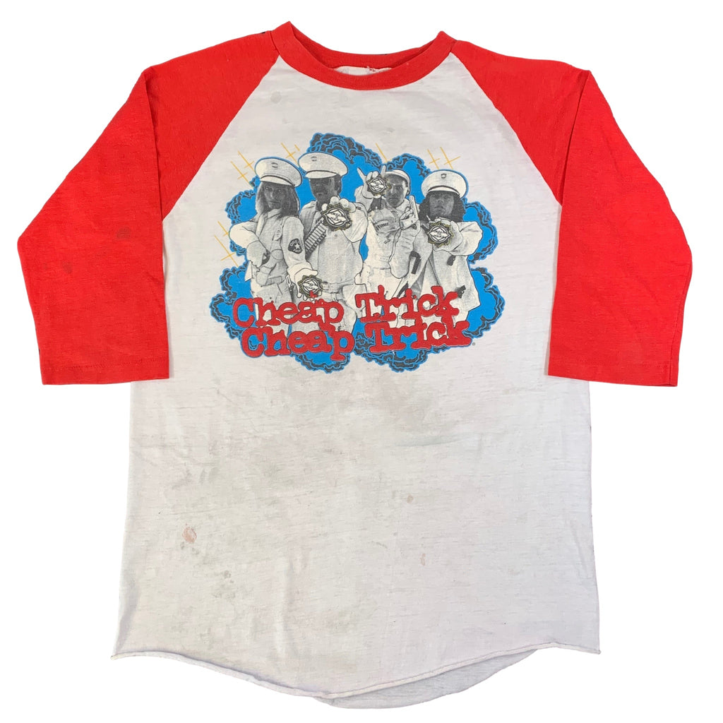 "Vintage Cheap Trick ""Dream Police"" Raglan"