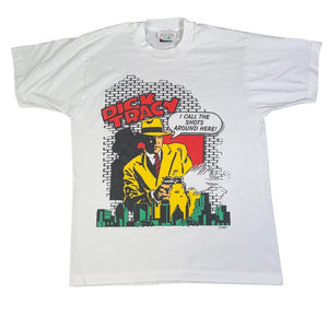 "Vintage Dick Tracy ""I Call The Shots"" T-Shirt"