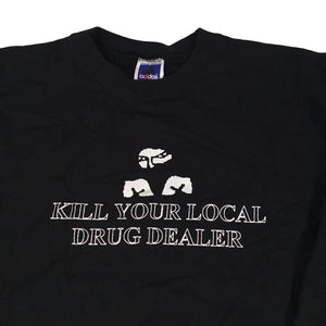 "Vintage Straight Edge ""Kill Your Local Drug Dealer"" Crewneck Sweatshirt"