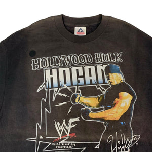 "Vintage Hollywood Hulk Hogan ""WWF"" T-Shirt"
