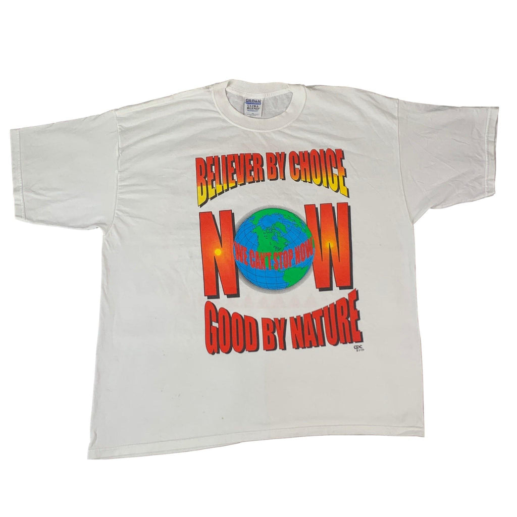 "Vintage Believer By Choice ""Good By Nature"" T-Shirt"