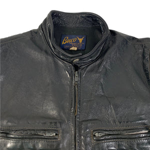 "Vintage Buco ""J-100"" Steerhide Leather Jacket"
