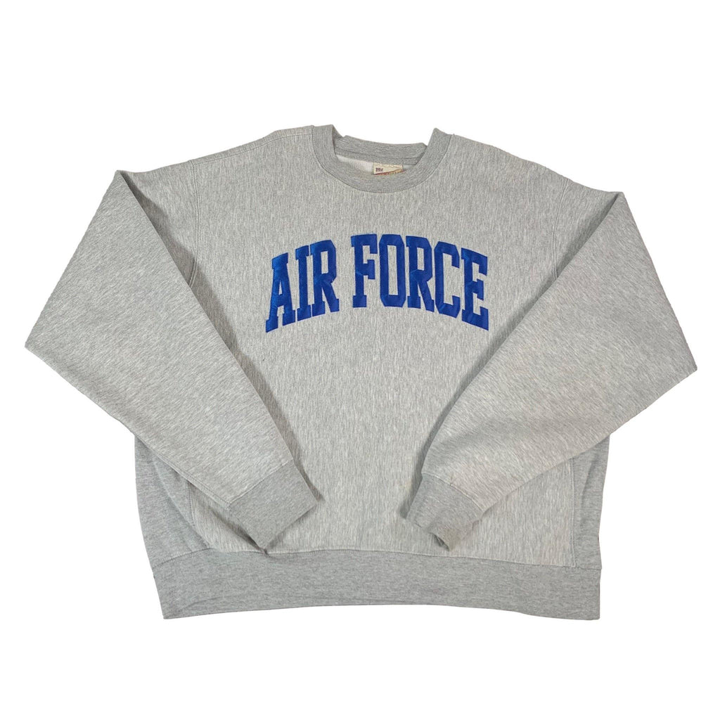 "Vintage Pro-Weave ""Air Force"" Crewneck Sweatshirt"