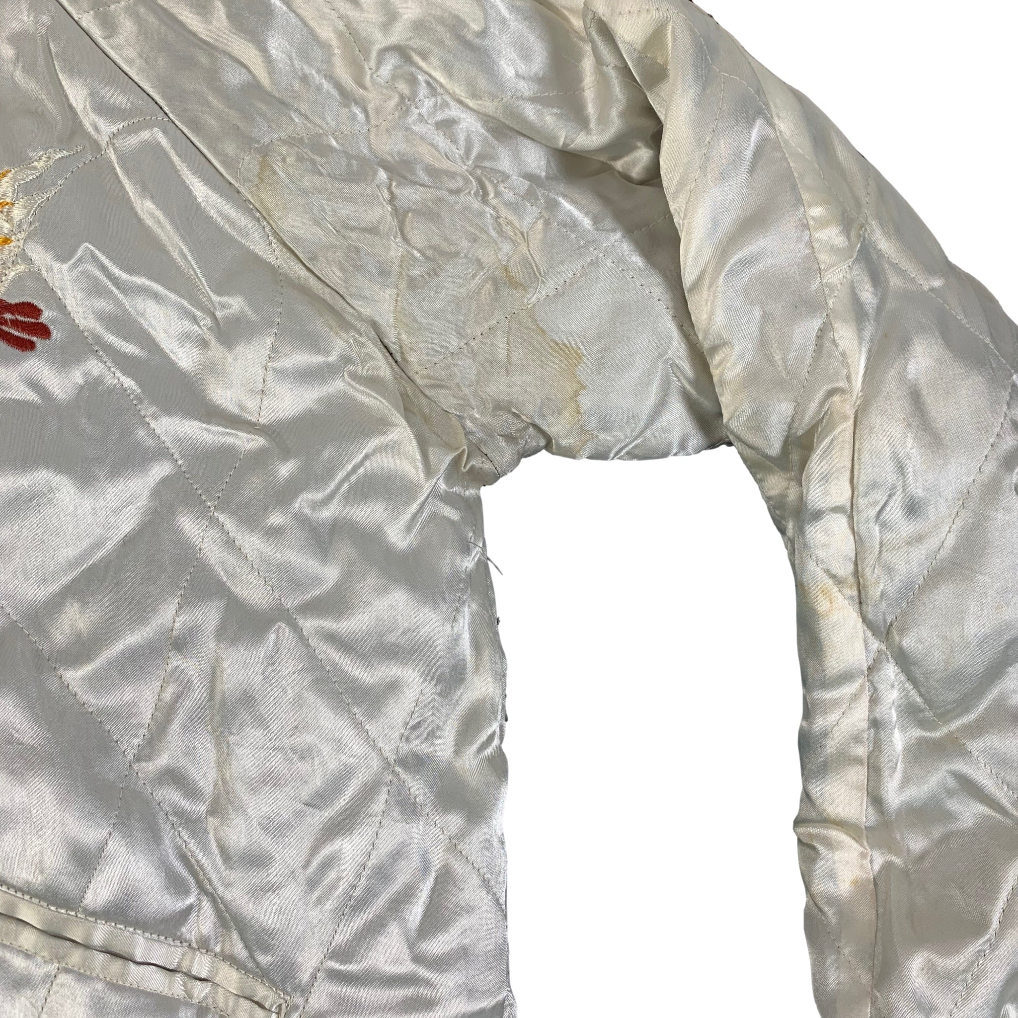"Vintage Reversible ""Fox Harbour"" Sukajan Jacket"