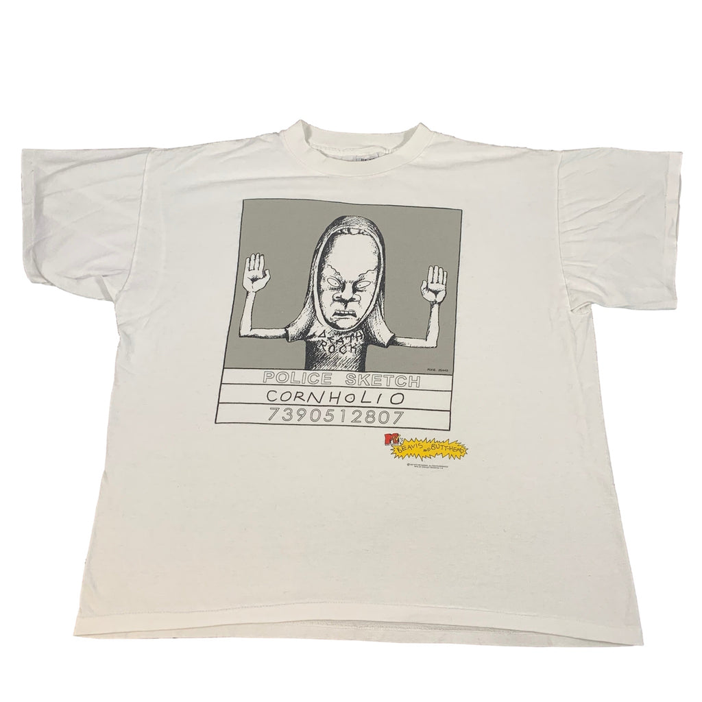 "Vintage Beavis And Butthead ""Cornholio"" T-Shirt"