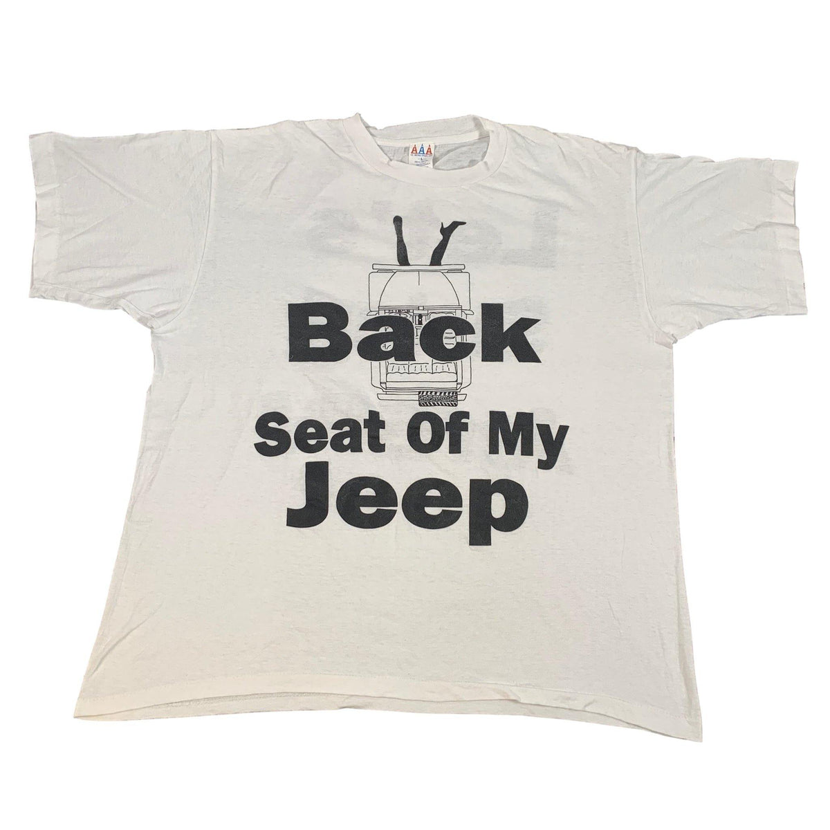 "Vintage LL Cool J ""Back Seat"" T-Shirt - jointcustodydc"