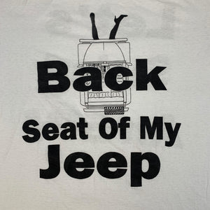 Vintage Original LL Cool J Back Seat T shirt detail
