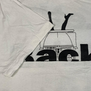 Vintage Original LL Cool J Back Seat T shirt stitch detail