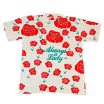 "Vintage Always A Lady ""Roses"" T-Shirt"