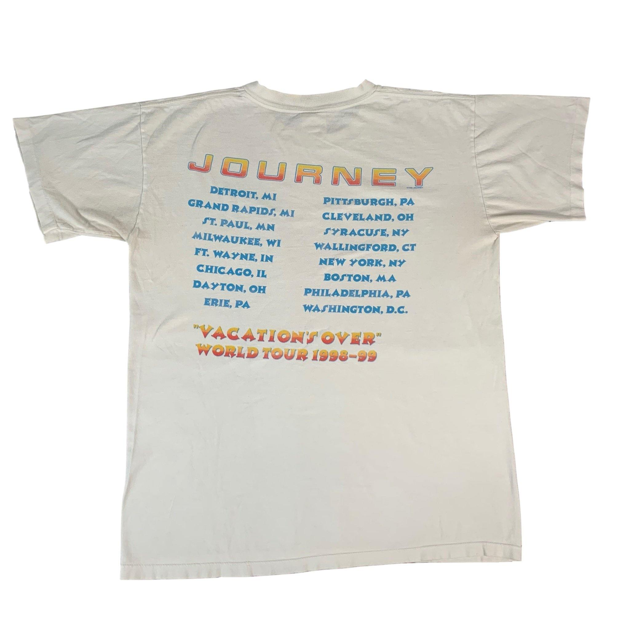 "Vintage Journey ""Vacation's Over"" T-Shirt"