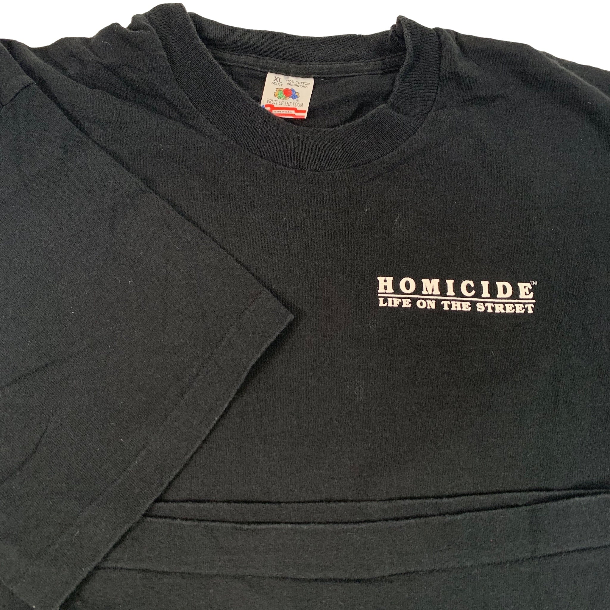"Vintage Homicide ""Life On The Street"" T-Shirt"