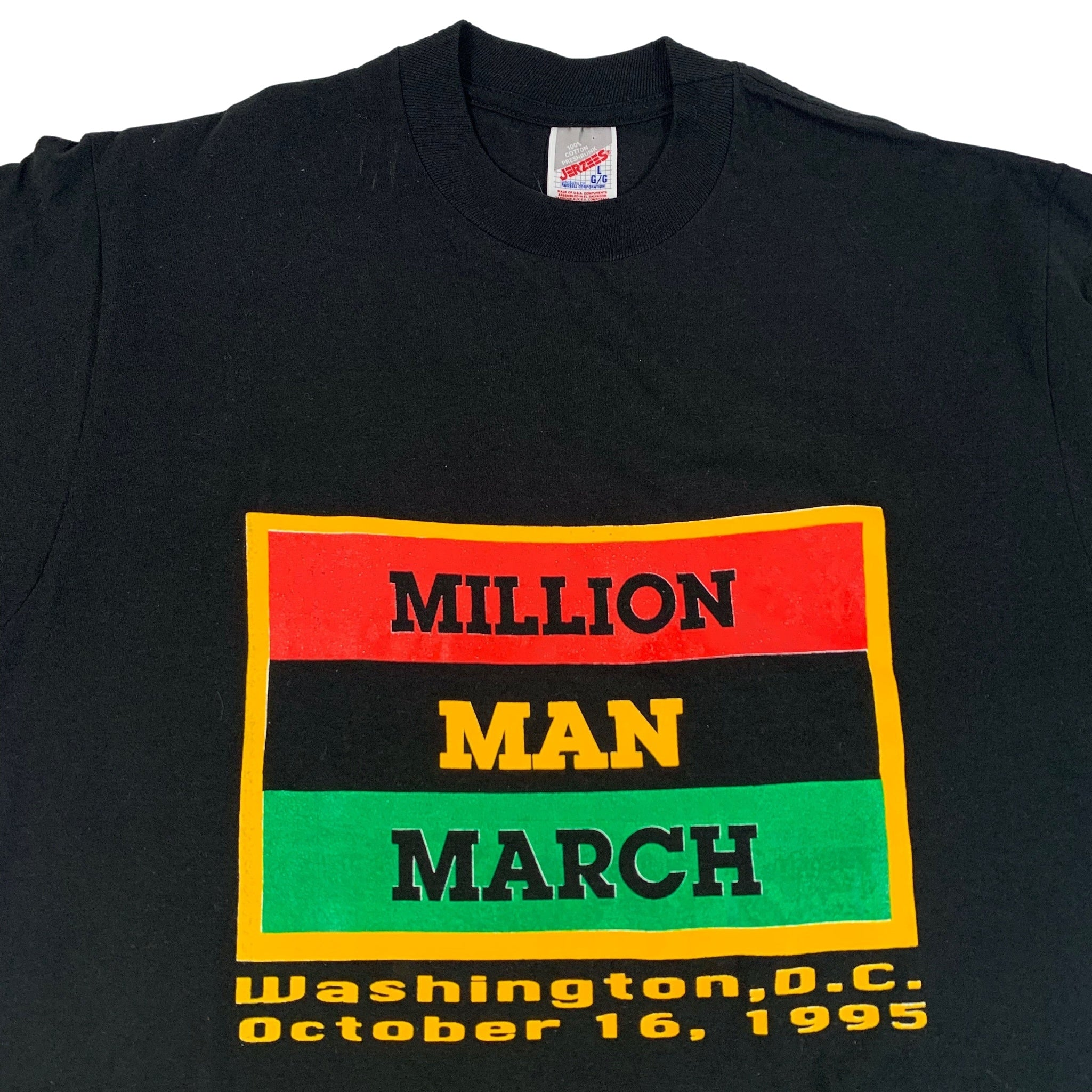 "Vintage Million Man March ""If Not Now... When"" T-Shirt"