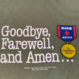 "Vintage MASH ""Goodbye, Farewell, And Amen"" T-Shirt"