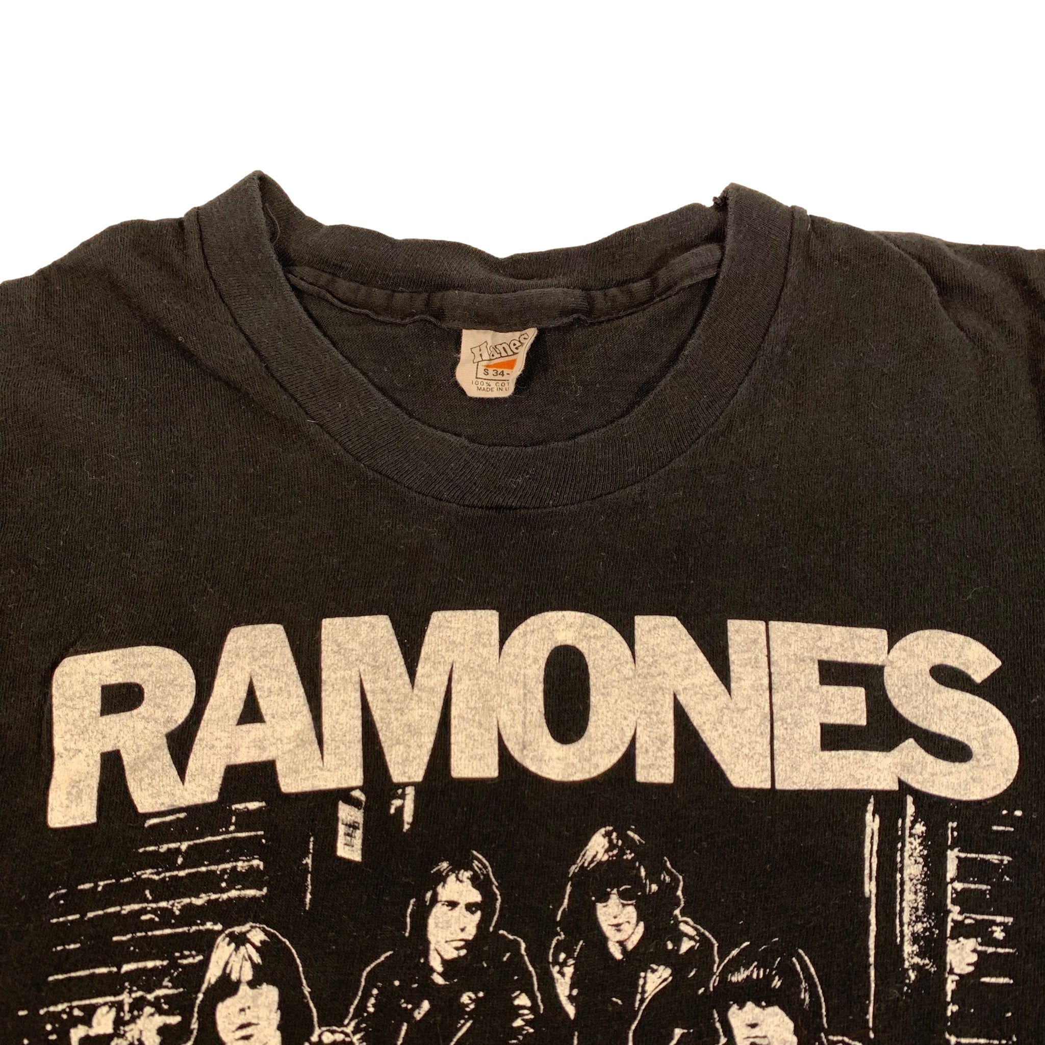 "Vintage Ramones ""Group Photo"" T-Shirt"