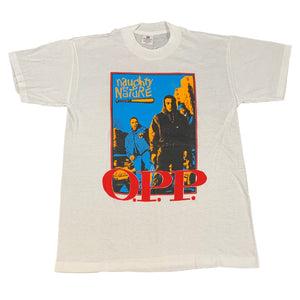 "Vintage Naughty By Nature ""O.P.P."" T-Shirt"