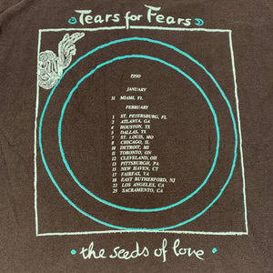 "Vintage Tears For Fears ""Seeds Of Love"" T-Shirt"