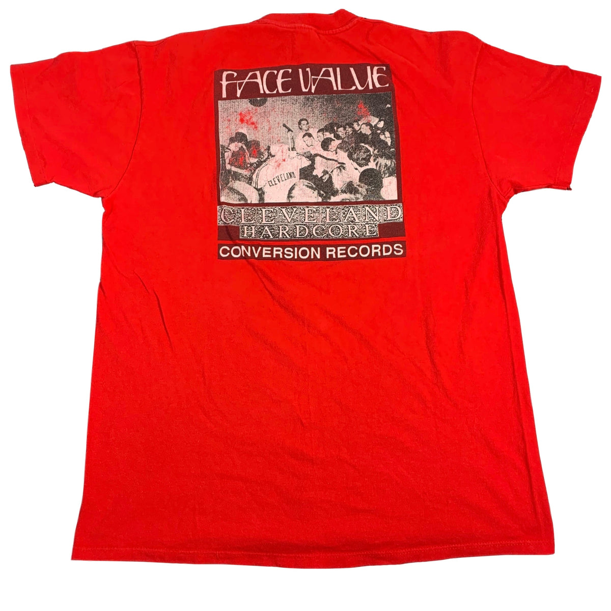 "Vintage Face Value ""Conversion Records"" T-Shirt"