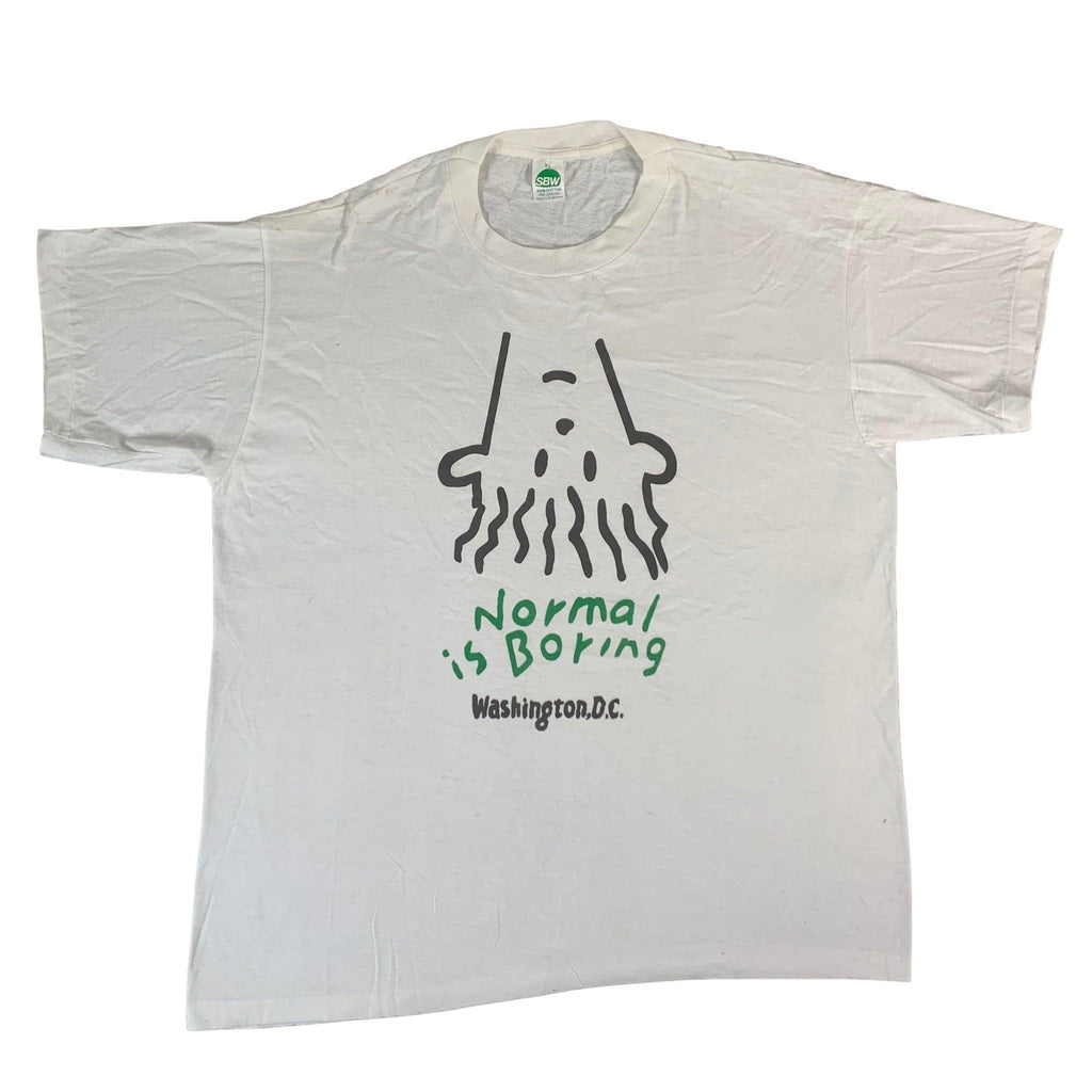 "Vintage Normal Is Boring ""DC"" T-Shirt"