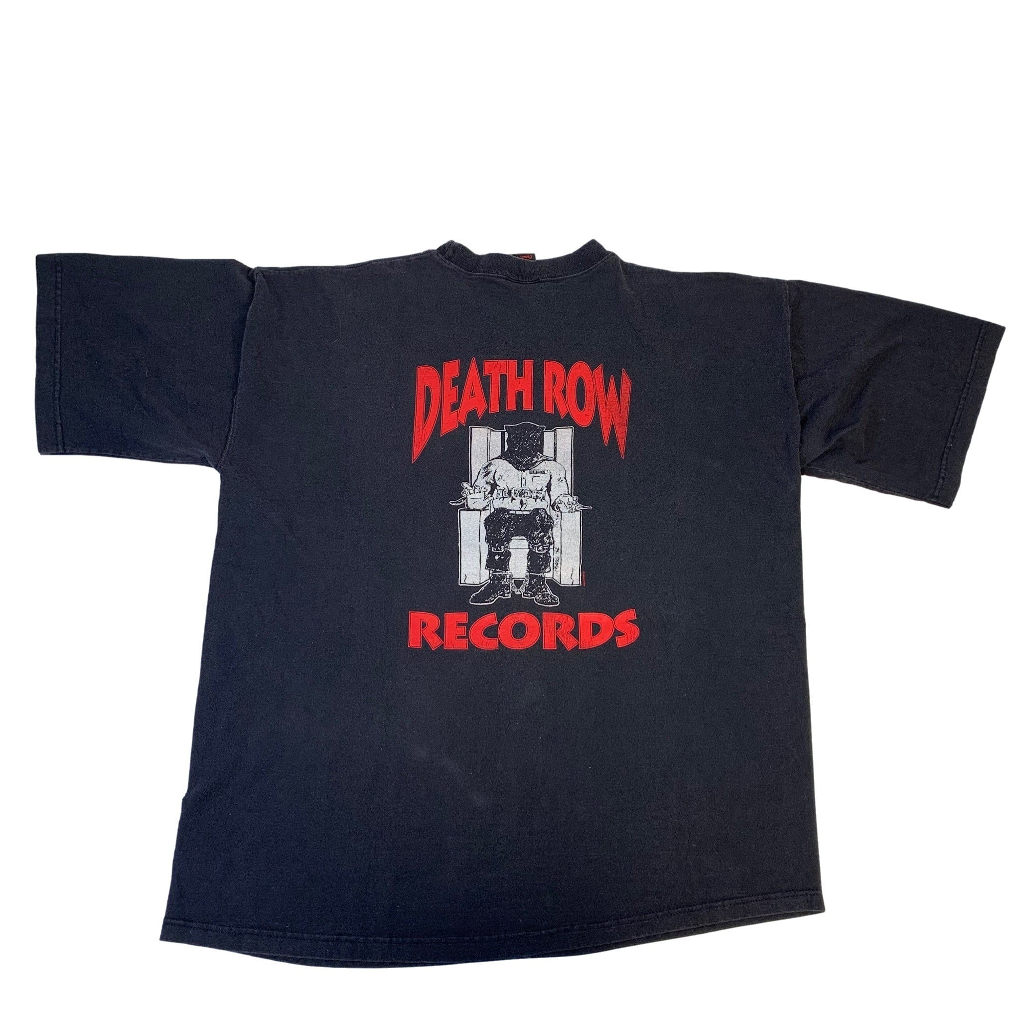 "Vintage Death Row Records ""Electric Chair"" T-Shirt"