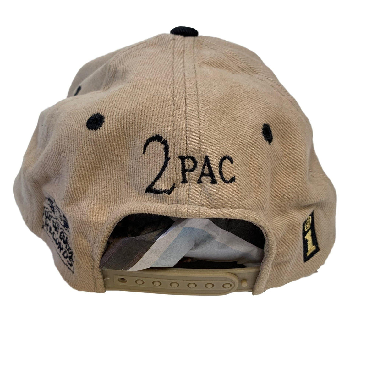 "Vintage 1995 2Pac ""Me Against The World"" Promotional Hat - jointcustodydc"