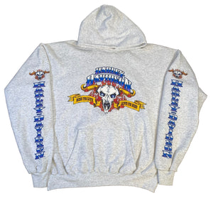 "Vintage Harley-Davidson ""Ride To Live"" Pullover Hooded Sweatshirt"