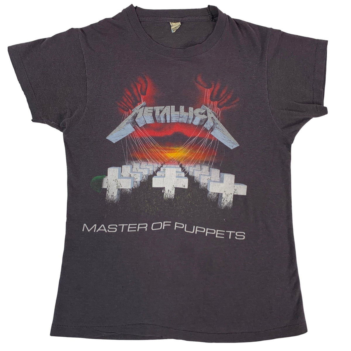 "Vintage Metallica ""Master Of Puppets"" Damage Inc Tour T-Shirt"