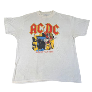 "Vintage ACDC ""Blow Up Your Video"" T-Shirt"