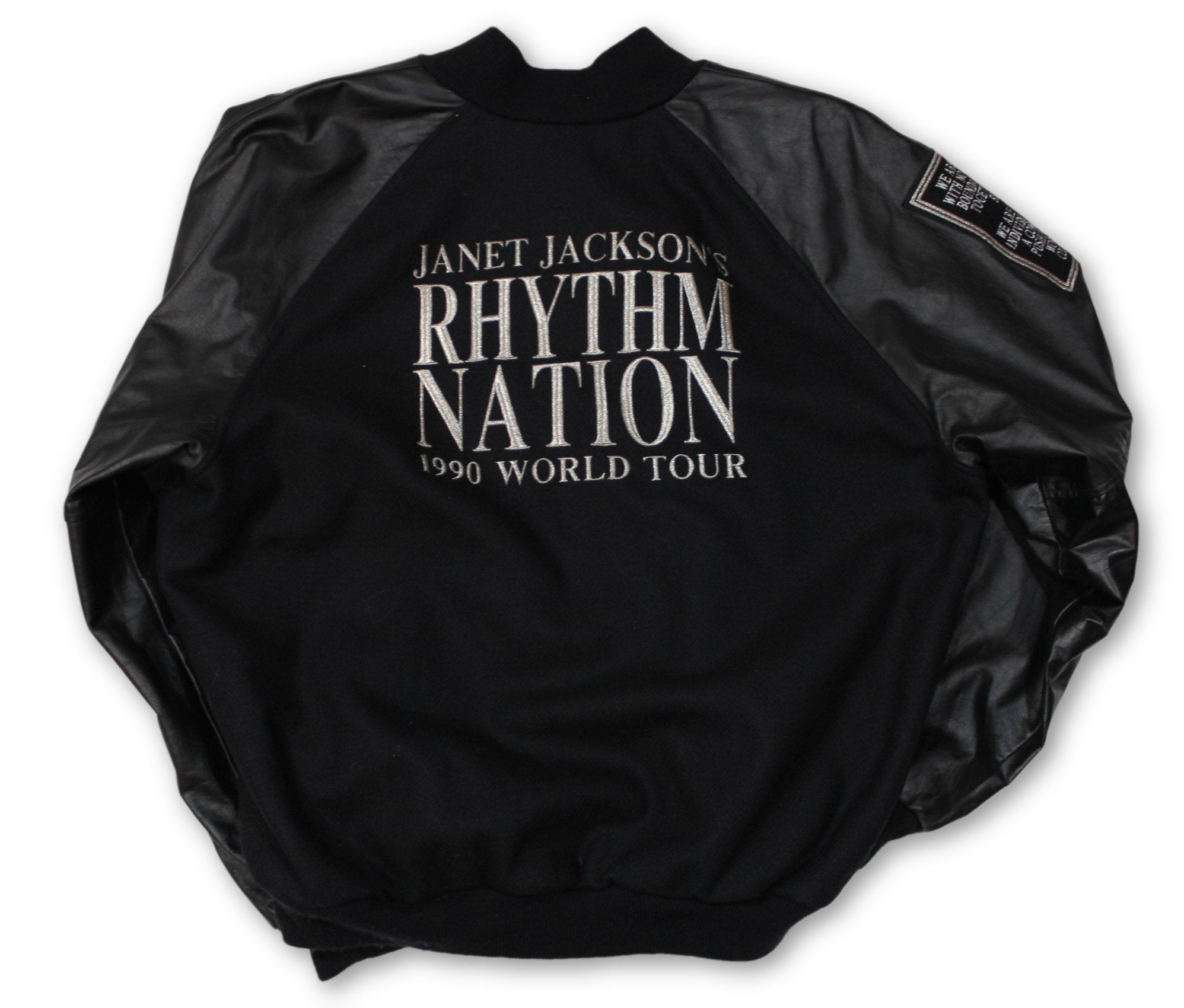 "Vintage Janet Jackson ""Rhythm Nation"" Jacket - jointcustodydc"