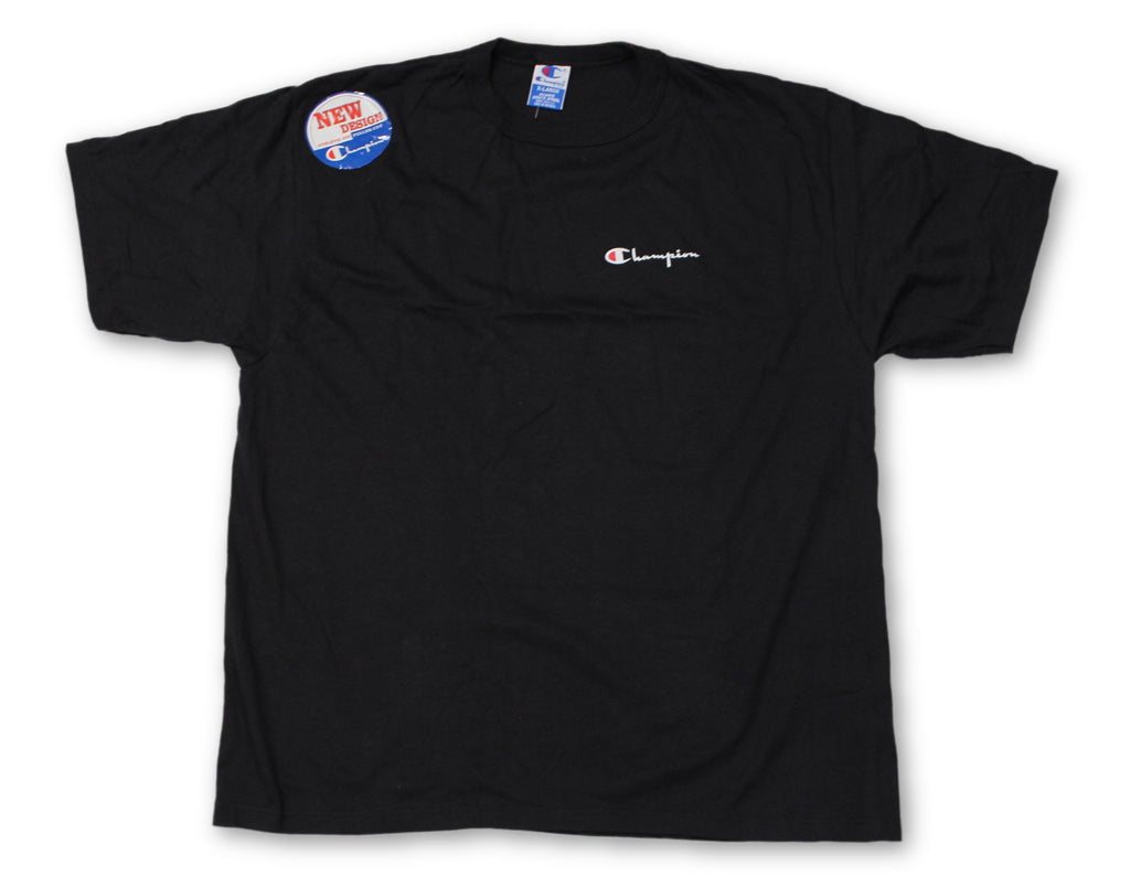 "Vintage Black Champion ""Logo"" T-Shirt"