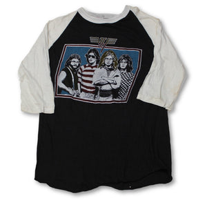 "Vintage Van Halen ""Group Photo"" Raglan T-shirt"